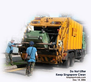 Are Garbage Men Urban Macrophages?  Toa Payoh Vets