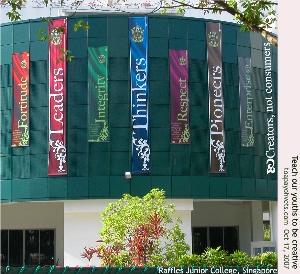 Raffles Junior College, Singapore. Toa Payoh Vets.