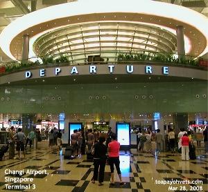 Singapore Changi Airport's New Terminal 3 - Singapore Airline stewardess,  Toa Payoh Vets