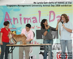 Undergraduates animal welfare groups in Singapore. Toa Payoh Vets