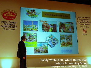 Mr Randy White at Pro-Family Business Conference 2008, Singapore. Toa Payoh Vets