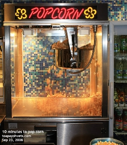 Singapore Cathay Cineplex popcorn making machine. Toa Payoh Vets