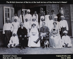 British Governor of Burma and family? Governor's House, Myanmar. Toa Payoh Vets