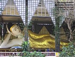 Reclining Buddha, Myitkyina, Kachin State, Myanmar. Toa Payoh Vets