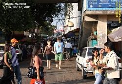 Vist downtown Yangon, Myanmar. Business District. Toa Payoh Vets.
