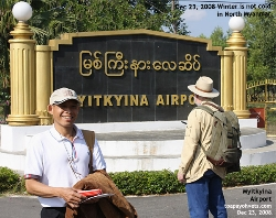 Myitkyina, North Myanmar is not cold in winter. Toa Payoh Vets