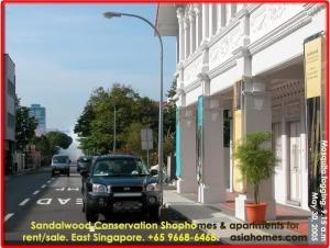 Sandalwood conservation shophome + studio + 2bedroom apartment, Singapore rental, asiahomes.com